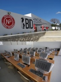 Haiti - Politic : Inauguration of the Professional Training Center of Hinche