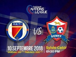 Haiti - Football : First match of the League of Nations, Haiti - Saint Martin