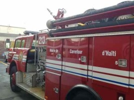 iciHaiti - Quebec : Granby donates a fire truck to Carrefour