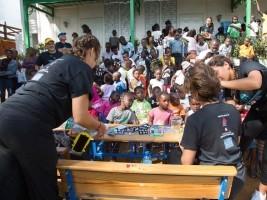 iciHaïti - Kenscoff : Visite d'une délégation de «Baldwin School» à Panyol