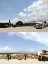 iciHaiti - USA : The US Army delivers 2 humanitarian cargo planes to Haiti