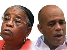 Haiti - Elections : Very different reactions from both candidates