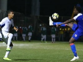 Haiti - League of Nations : Haiti wins against Nicaragua [2-0] and takes the lead