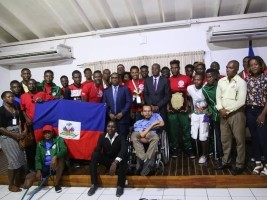 iciHaiti - Handisports : Minister Charles pays tribute to our amputee Grenadiers