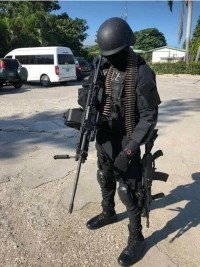 Haiti - FLASH : The National Palace deploys its special unit equipped with weapons of war