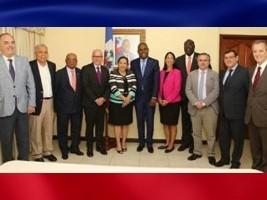 iciHaïti - Crise : Réunion du PM avec des ambassadeurs de pays membres de l'OEA