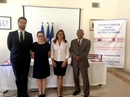 iciHaïti - Justice : Ouverture de la 7ème session de formation en Droit international