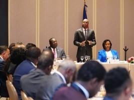 Haiti - Mexico City: Jovenel Moses Receives the Grievances of the Haitian Diaspora