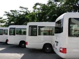 iciHaiti - Politic : New buses for public transit
