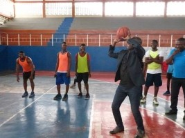 iciHaiti - Sports : Minister Charles on tour of sports facilities in the Great North