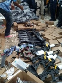 Haiti - Justice : Seizure of weapons in St-Marc, 9 indicted, 2 in prison and 7 fugitives