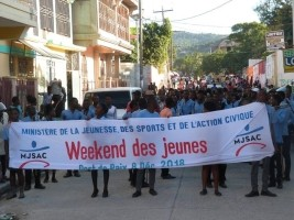 Haiti - Social : Launch of the 2018 edition of «Youth Weekend» in the North-West