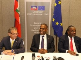 Haiti - Politic : Launch of «Urbayiti» a 4.2 billion gourdes program