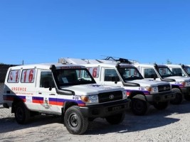 Haiti - Canada: Donation of 9 Ambulances for Artibonite