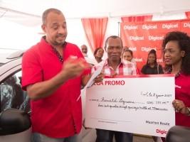 iciHaiti - Social : Digicel's «Mega Promo» prize award ceremony