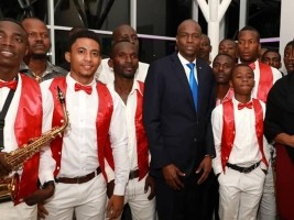 iciHaiti - Music: President Moses paid tribute to the Father of Compass