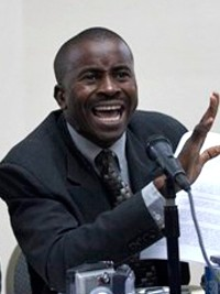 Haiti - Petit-Goâve: Support for the candidacy of Senator Senatus, as new President of the Senate