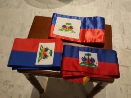 iciHaïti - Politique : Remise des écharpes présidentielles au Musée du Panthéon National