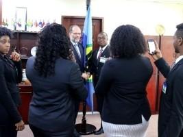 iciHaïti - Politique : Une délégation de jeunes professionnels haïtiens à la CARICOM