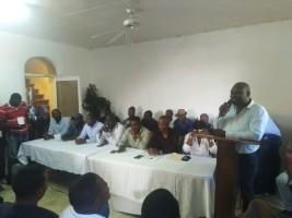 iciHaïti - Politique : L'opposition en tournée nationale