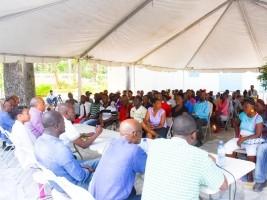 iciHaïti - Martissant : Réunion communautaire autour du projet de la route des Dalles