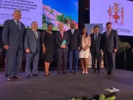 iciHaïti - Tourisme : La Ministre  Stephenson à la 2ème Conférence Mondiale sur l'emploi et le Développement des MPME