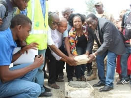 iciHaiti - Croix-des-Bouquets : A new public square and a police sub-station in Lilavois 48