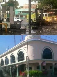 Haiti - FLASH : Banks attacked, gas station burned, opposition is radicalized