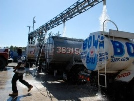 Haiti - Crisis : Protests affect the water supply of the capital