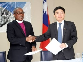 iciHaïti - Taïwan : Signature de don de 6,500 tonnes de riz