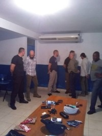 Haiti - FLASH : Back in the United States, the members of the «commandos» are free