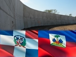 Haiti - Security : The Dominicans explain the construction work at the border