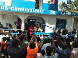 iciHaïti - Milot : Inauguration du Commissariat de Lambert