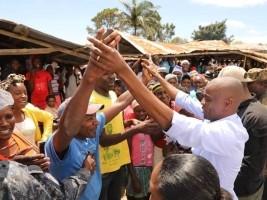 iciHaïti - Politique : Le Chef de l'État en visite à Cornillon Grand-Bois