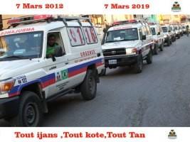 iciHaïti - Santé : Le Centre Ambulancier National fête ses 7 ans