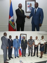 iciHaiti - Security : The new acting Prime Minister met with the members of the CSPN