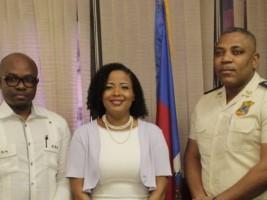 iciHaïti - Sécurité : Michel-Ange Gédéon veut rassurer la diaspora