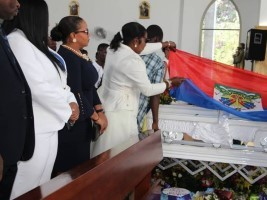 iciHaïti - Social : Funérailles d'Aristide Arisson Junior, ASEC de Grand-Ravine