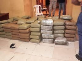 Haiti - DR : More than 600 kg of marijuana seized on a boat from Haiti