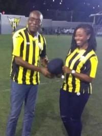 iciHaïti - Championnat National : Un dimanche de foot bien rempli pour le Ministre Charles