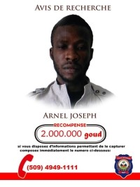 Haiti - FLASH : «Arnel» challenges the PNH to reach to arrest him