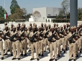 iciHaiti - Army : Graduation of 55 Haitian soldiers in Mexico