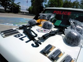 iciHaiti - Security : Delivery of equipment to the Fight Against Narcotics Trafficking Office