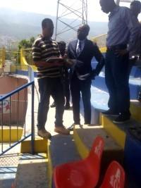 iciHaïti - Sport : Évaluation des coûts de mise à niveau du Stade Sylvio Cator