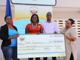 Haiti - Economy : Renaissance competition, Moïse gives a hand to young entrepreneurs
