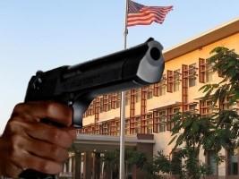 iciHaïti - Insécurité : Coups de feu à proximité de l'Ambassade américaine