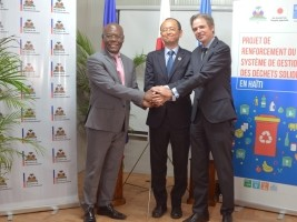 Haiti - Japan : Launch of the Solid Waste Management System