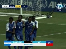 Haiti - World Cup U-17 : Our Grenadiers dominate Honduras [2-0] in the Elimination Phase