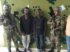 Haiti - DR : Two Haitian fugitives accused of murder, captured by the Dominican army