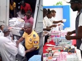 iciHaïti - Sécurité : Premières aides sociales sur l'ancien territoire de «Ti je»